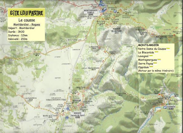 Rando Montdardier oppidum de Rogues